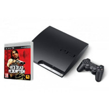 CONSOLA PS3 SLIM 160GB + RED DEAD REDEMPTION